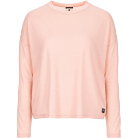 super.natural Yoga Loose LS Top Women blush